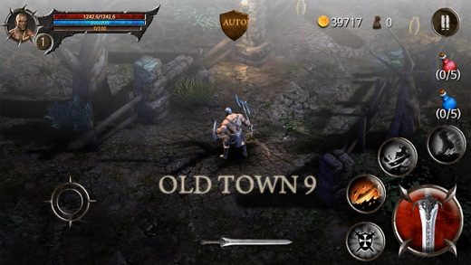 BloodWarrior Screenshot