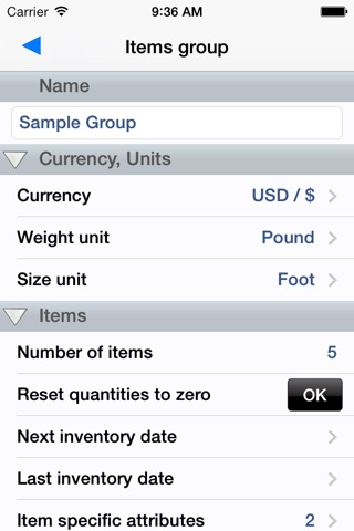 Stock Control Inventory screenshot 4