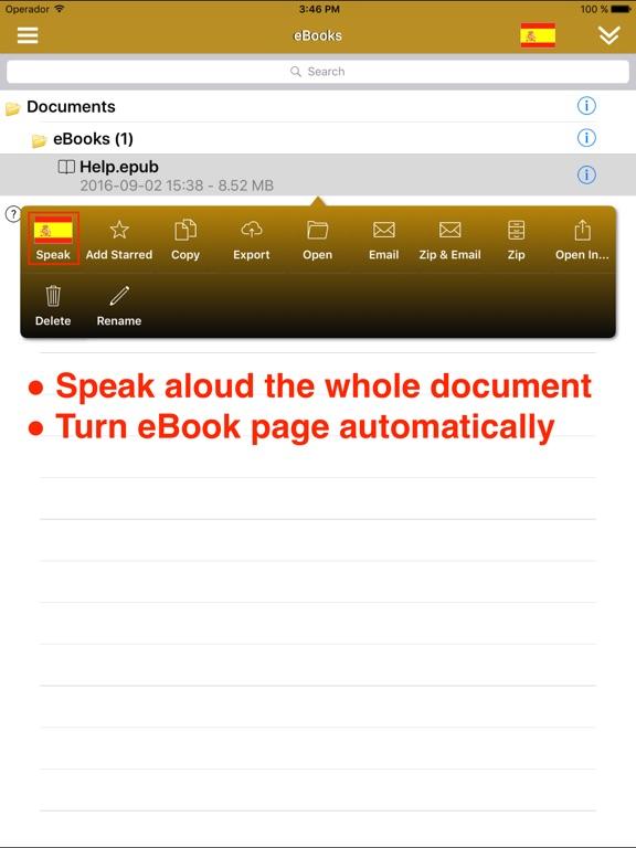 ReadToMe (Text-to-Speech) Screenshots