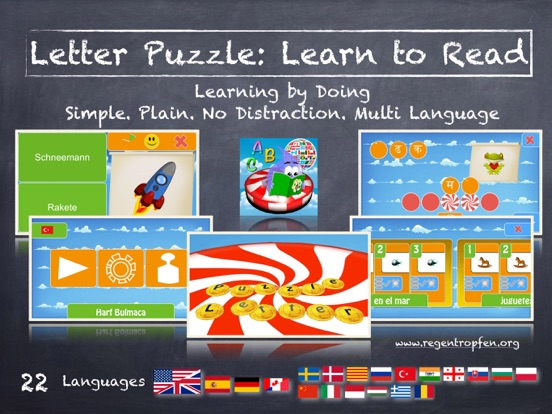 Letter Puzzle Learn To Read On The App Store