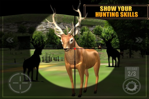 Deer Hunting - Sniper Shooting screenshot 3