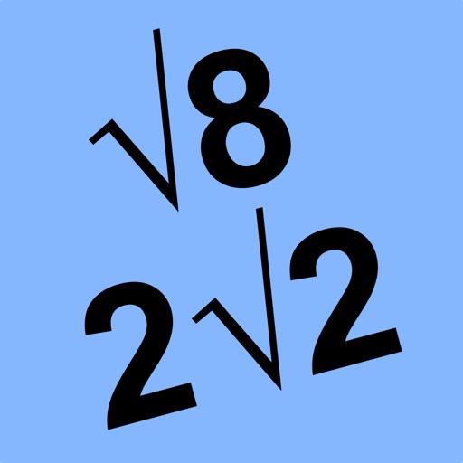 ARadicalSimp Simplify Radical iOS App