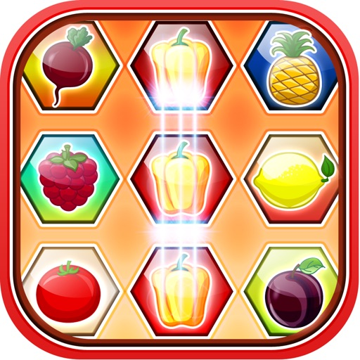 Juicy Fruity Match Farm LX - A Fun Barn Puzzle Game for Kids iOS App