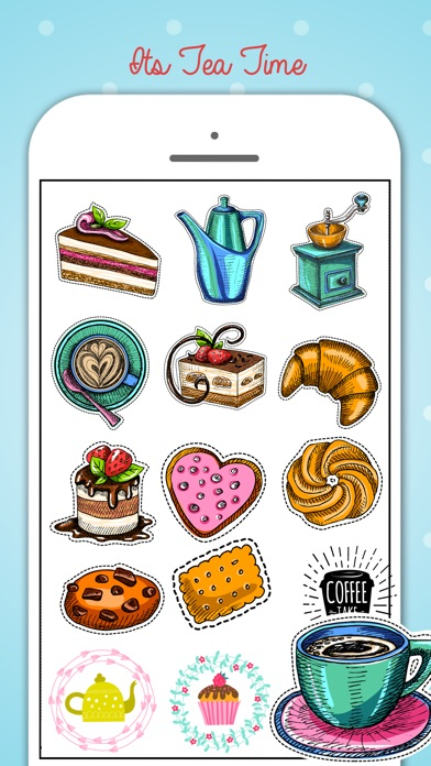 Tea Party Stickers Pack screenshot 4