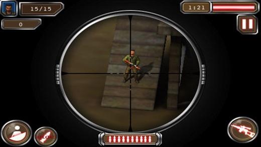 scharfschütze schütze 3d - freien scharfschützen s Screenshot