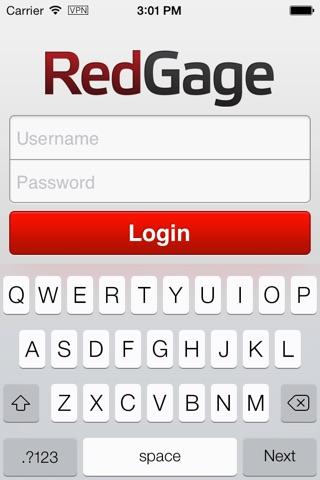 RedGage screenshot 2