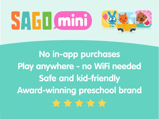 Sago Mini Babies Dress Up Screenshots