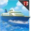 Cruise Ship Simulator 3D - Veliero mega sul mare per raccogliere & drop passeggeri dall'isola