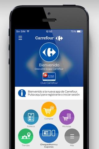 Mi Carrefour: Cupones & Ahorro screenshot 1