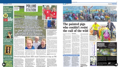 East Anglian Daily Times review screenshots