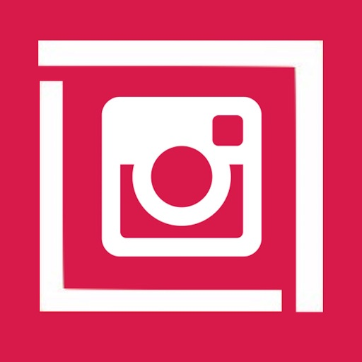 Square Ready - Un Cropped Photos for Instagram IG Icon