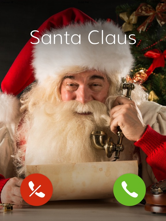 Call Santa Claus Christmas Parents Catch Wish On The App
