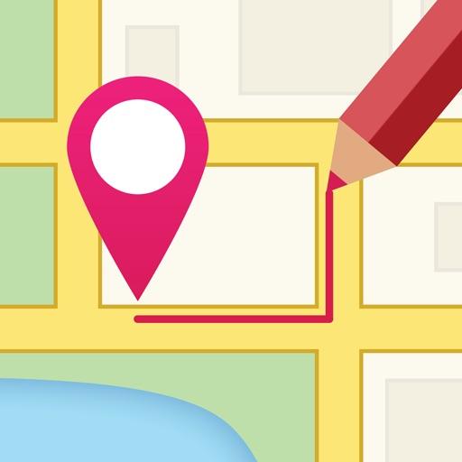 地图涂鸦:DrawOnMp【路线轻松画】