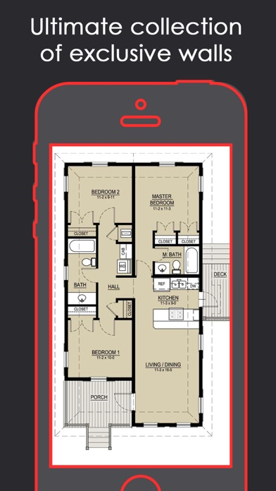 Magical floor plan layout home designs catalog app for Floor plan design app