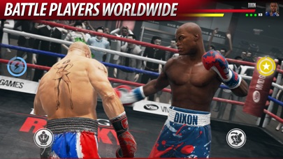 Screenshots of Real Boxing 2 ROCKY for iPhone