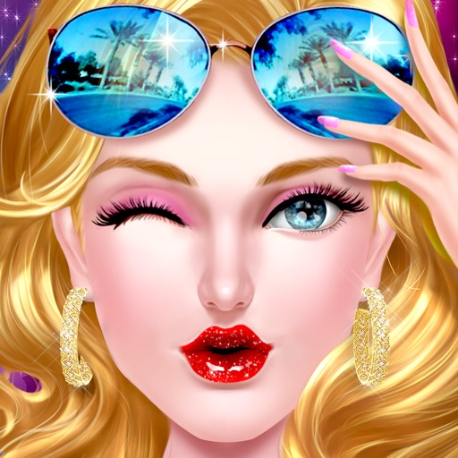 Glam Girl - Dress Me Up: Real Salon Game for Girls iOS App