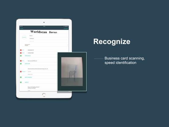 FoxCard -Business card scanner Screenshots