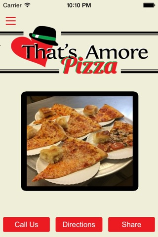 That's Amore Pizza screenshot 1
