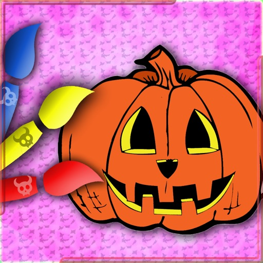 Halloween Drawing For Kids iOS App
