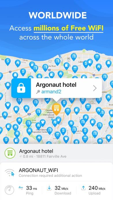 Screenshot of WiFi Map - Internet Gratuito2
