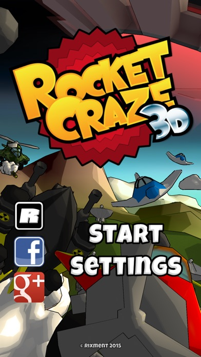 Screenshot Rocket Craze 3D
