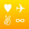 Symbol Board Keyboard free - New Symbols with infinity color themes, fancy fonts and emoji for iPhone