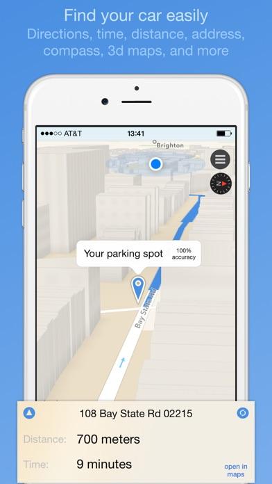 ParkIt - parking location and expiration reminder Screenshot