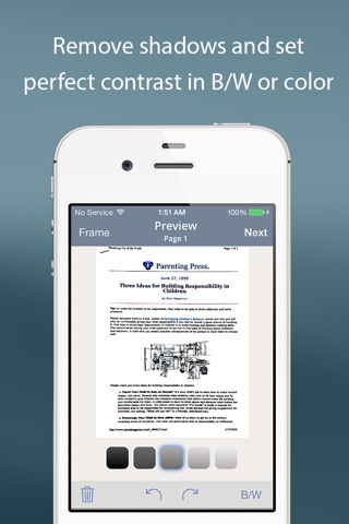 TurboScan™ Pro: PDF scanner screenshot 3