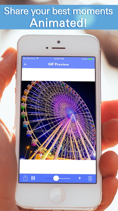 Gif maker pro create animated images from videos and photos on iphone screenshot 2 negle Gallery