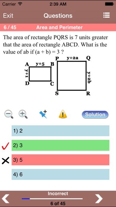 PSAT Geometry Screenshots