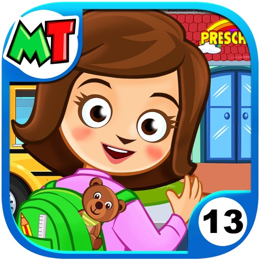 My Town : Preschool app for ipad