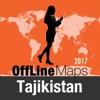 Таджикистан Оффлайн Карта