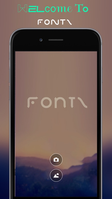 Fontz App: Add Captions, Love, Text, Quotes & Typography To Your Photos Screenshot