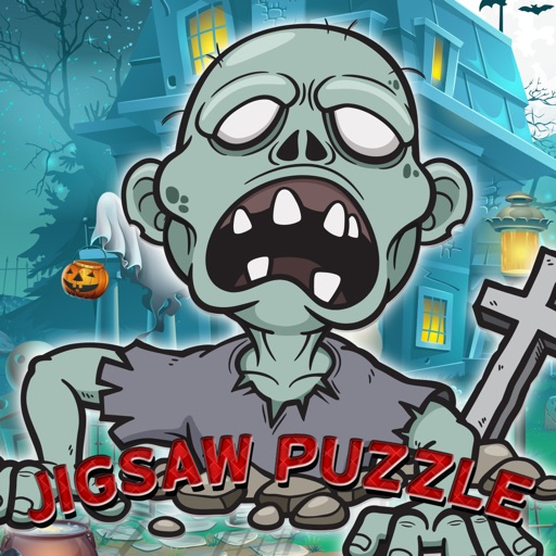 Zombie Ghost Jigsaw Puzzle For Toddlers And Kid iOS App