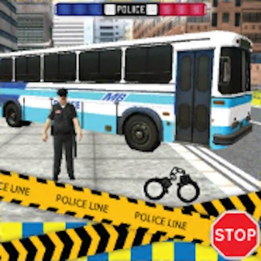 Police City Bus Staff Duty Simulator 2016 3D - London Anicent City Police Department Pick & Drop iOS App