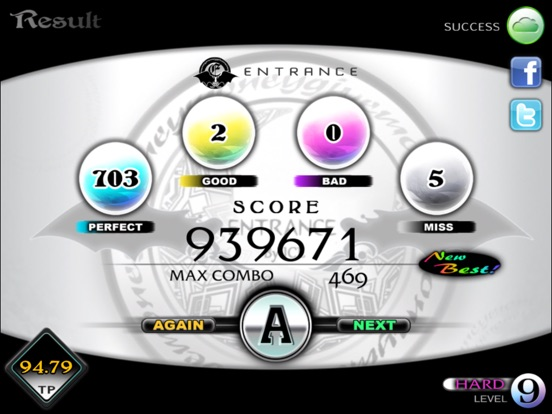 Screenshot #5 for Cytus