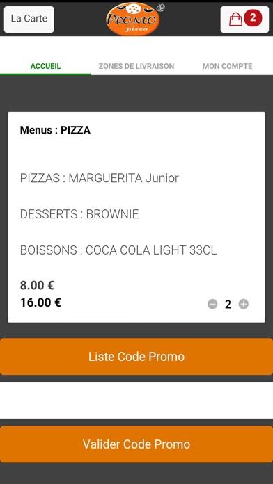 Pronto Pizza ArcueilCapture d'écran de 4