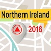 Northern Ireland Offline Map Navigator and Guide map of northern india