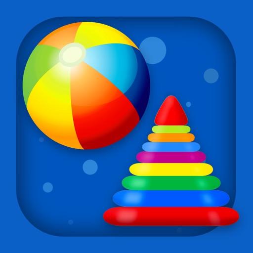 Умная сортировка HD - Формы и цвета для малышей / Детские развивающие и обучающие игры для детей с 2 лет бесплатно