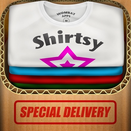 Shirtsy - Design and mail a custom shirt & clothing App Ranking & Review