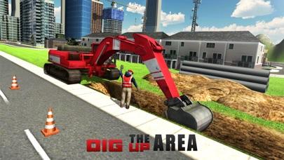 ヘビーショベルクレーンシミュレータ3D - PRO建設トラック運転手の挑戦のスクリーンショット4