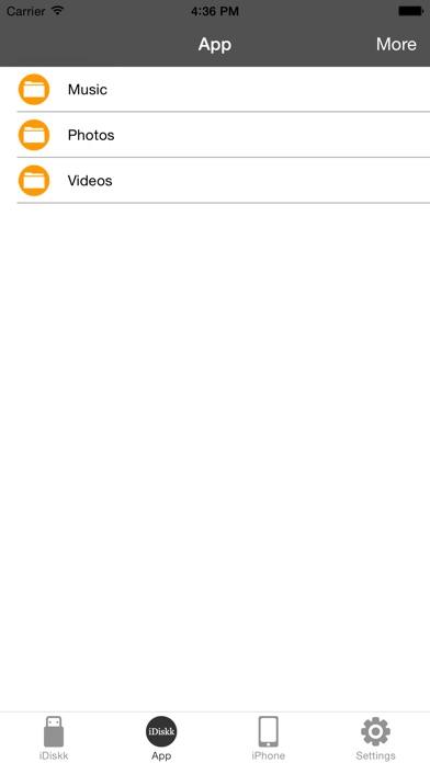 iDiskk Pro Screenshot