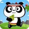 熊猫爬竹子-无尽虐心指尖小游戏