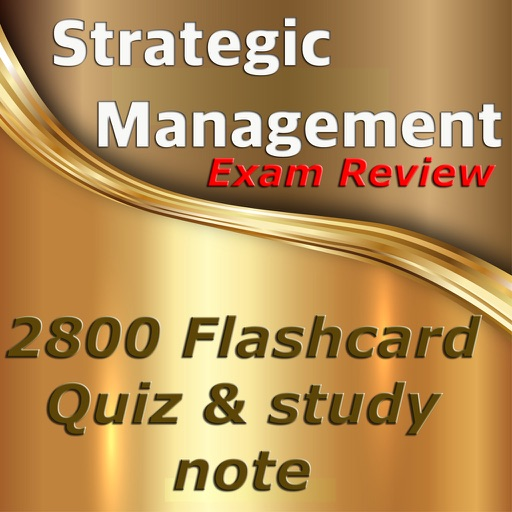 strategic mgmt quiz Chapter 1 introduction: what is strategic management what is strategy the term 'strategy' proliferates in discussions.