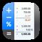 CalcTape Taschenrechner mit Notiz-Funktion