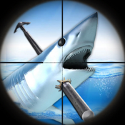 Great White Shark Hunters : Blue Sea Spear-Fishing Adventure FREE icon