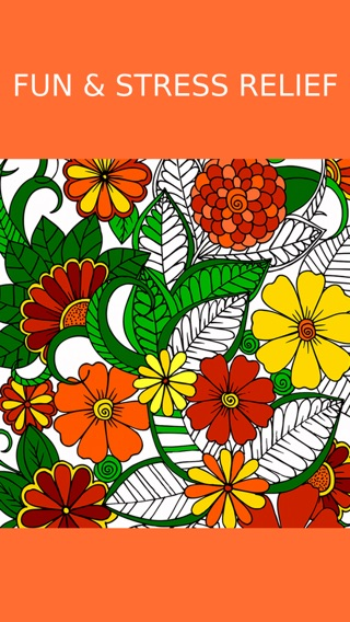 Floral Coloring Book For Adults Best Free Adult Therapy