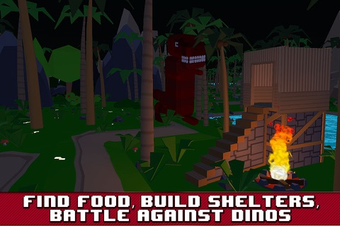 Dino Island Survival Simulator 3D Full screenshot 3