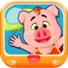 三只小猪游太空 早教 儿童游戏