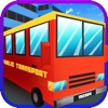 Blocky Transport Bus Simulator